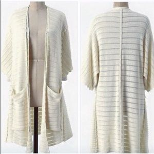 Guinevere. Anthro knit duster cardigan.